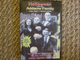 Halloween with the New Addams Family Unreleased DVD Movie. 1977! - $17.99