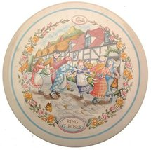 Wedgwood 1986 Childrens Wall Plaque Ring of Roses Nursery Rhymes CP195 - $30.58