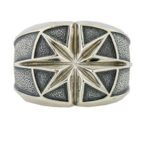 David Yurman Sterling Silver Men's Maritime North Star Ring - $321.75