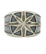 David Yurman Sterling Silver Men's Maritime North Star Ring - $321.75