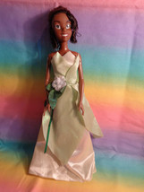 Disney Princess and the Frog Tiana Barbie Sized Doll Dressed - $10.15