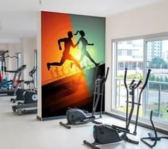 3D Playground Runnin P37 Business Wallpaper Wall Mural Self-adhesive Com... - $13.49+
