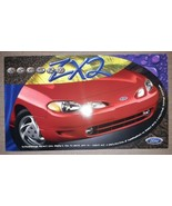 1997 Ford Escort ZX2 Coupe Dealer Card - $9.67