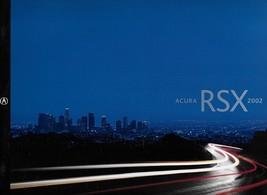 2002 Acura RSX sales brochure catalog 02 US Integra Type S - $10.00