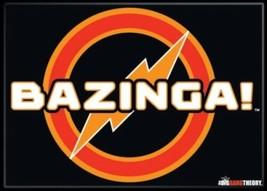 The Big Bang Theory TV Series Bazinga! Name Logo Refrigerator Magnet NEW... - $3.99