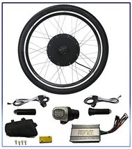 "48V 1000W Electric Bicycle Motor Conversion Kit 26"" Bike Cycling Front W... - $175.95"
