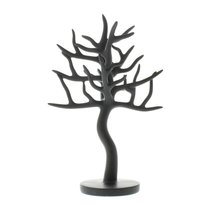 Jewelry Tree Stands, Unique Tree Jewelry Stand For Necklaces Earring Black - $29.73