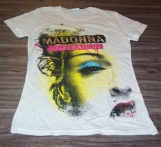 WOMEN'S TEEN Juniors MADONNA CELEBRATION T-shirt SMALL NEW - $19.80