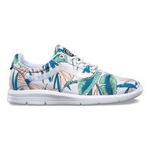 VANS ISO 1.5 (Tropical Leaves) True White UltraCush Sneakers Womens Size 9.5 - $54.95