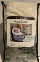 JJ Cole BUNDLE ME Car Seat Cover for Infants Graphite Gray Faux Shearling - $25.99