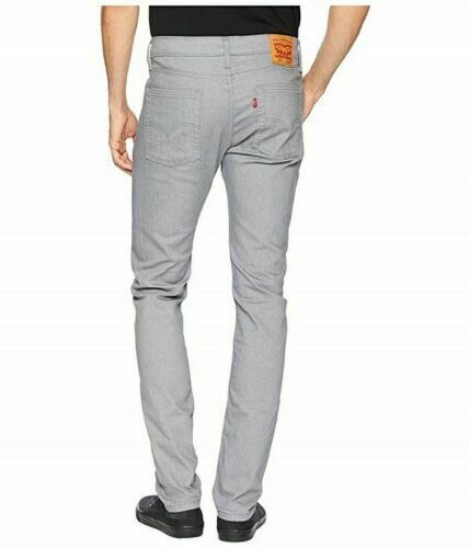 Levi Men 510 Skinny Fit Stretch Jean Size W30 x L32 Color Gray RRP $69.50 image 3