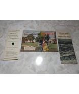 Charlottesville Virginia Shenandoah National Park Travel Brochure Map VT... - $9.40