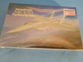 97 McDonnell Douglas F-15A Eagle War Planes Minicraft Model Kit 1/144 Scale.NEW - $11.29