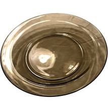 "Arcoroc France Smoke Gray grey Rimmed Soup Bowl - 8 1/2"" - $15.95"
