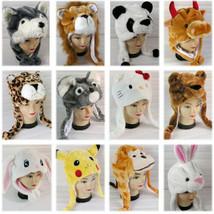 Neuf Dessin Animé Chapeau Animal Chapeau Hiver Chapeau Costume Oreille - $16.54