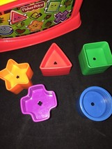 Baby Shape Sorter Colorful Blocks Kid Interactive Learning Toys Fisher Price  - $12.00
