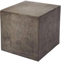 Dimond Home 157-008 Cubo Concrete Cube Table, 20' X 20' X 20' - $276.09
