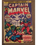 Captain Marvel # 28, 31 Black Panther, Thanos (Marvel lot of 2) - $44.75
