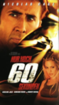 Gone in Sixty Seconds Vhs image 1