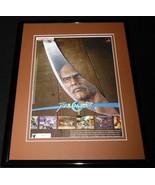 2003 Soul Calibur II Playstation Framed 11x14 ORIGINAL Advertisement - $32.36