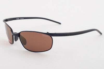 Primary image for Bolle Lift 11028 Satin Black / Brown Polarized AG 14 Sunglasses