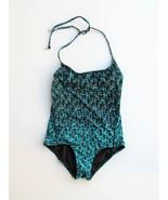 Swimsuit One Piece Swim Marc Marc Jacobs Aurora Maillot Palm Green NEW X... - $67.32