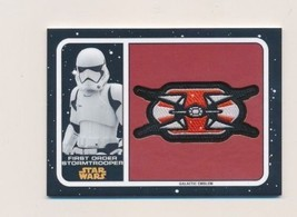 2017 Star Wars Journey To The Last Jedi Patch #MPFS First Order Stormtro... - €3,47 EUR