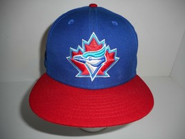 New Era 59Fifty Toronto Blue Jay Fitted Cap Hat 7 5/8 Retro 97-00 Alternative  - $19.99
