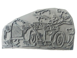"""Lili of the Valley Unmounted Rubber Stamp """"Toot Toot"""" #ST421 image 2"""