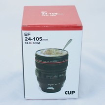 24-105mm Travel Coffee Mug / Cup / Thermos with Drinking Lid & Quality S... - $19.75