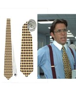 necktie Bill Lumbergh office space funny corporate management roleplay c... - $24.00