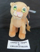 "Disney The Lion King 8"" tall Nala Just Play plushie stuffed figure toy 9... - $18.99"