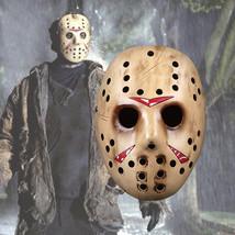 GaFriday The 13th Mask Helmet Halloween Cosplay Season Jason Golden Version - $47.27 CAD