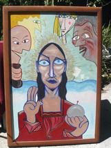 John Anthony Miller ORIGINAL abstract oil paint... - $8,563.50