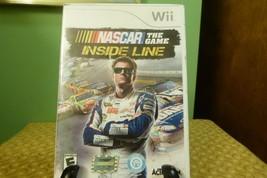NASCAR The Game: Inside Line (Nintendo Wii, 2012) Very Good Condition NO... - $8.90