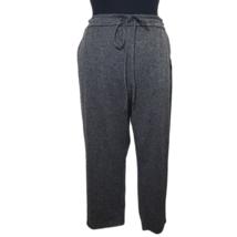 Ava & ViV Womens Gray Knit Pull On Drawstring Straight Leg Stretch Pants... - $32.88