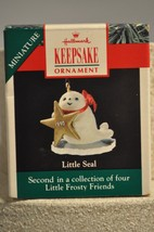 Hallmark - Little Seal - 2nd of 4 Little Frosty & Friends - Miniature Or... - $6.72