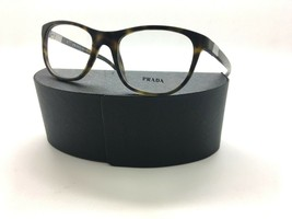 Prada VPR 29S HAQ-1O1 Matte Dark Havana New Authentic Eyeglasses 52mm w/ Case - $87.10