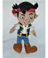 "DISNEY Jake and the Neverland Pirates plush 9"" Plush Pirate Doll - $8.90"