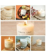 Candle Scented Large Jar Coconut Wax Handmade 60 hrs Wood Wick Limited 7.6 Oz  - $17.99