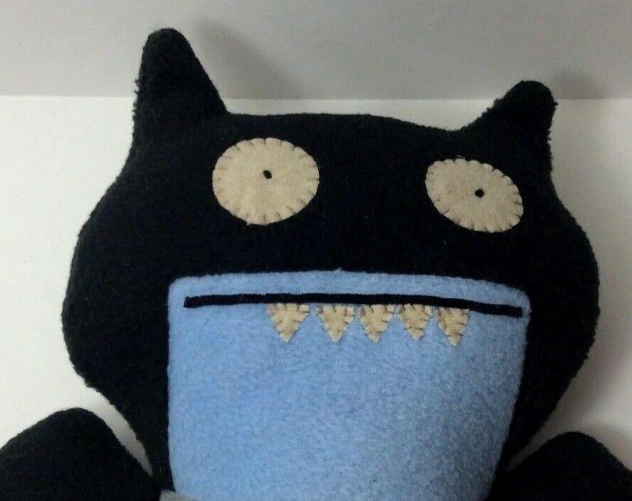 "Ugly Doll ICE BAT Batman DC Comics Gund Uglydoll 10"" Plush Unplayed With Display"