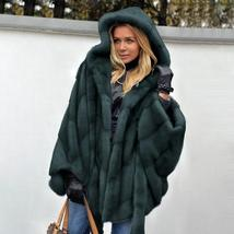 New Winter Fashion High Quality Thick Imitation Thick Mink Fur Coat image 3