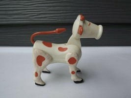 Vintage Fisher Price Little People Spotted Cow #915 - $12.64