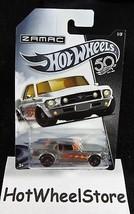 2018 Hot Wheels 50th Anniversary Zamac '67 Ford Mustang Coupe  1/8 Walma... - $2.50