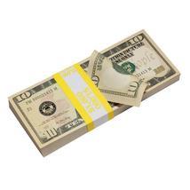 PROP MOVIE MONEY - New Style $10 Full Print Prop Money Stack - $14.00