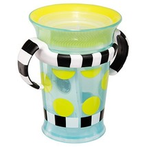 Sassy Spoutless Grow Up Cup with Trainer Handles - 7 Ounces 6+ Months Pediatric