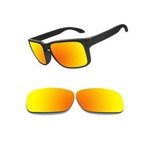 Optico Polarized Replacement Lenses for Oakley Holbrook Sunglasses Red - $12.99