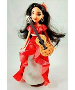 "Disney Princess ELENA of AVALOR 11"" Doll -  Dress & Guitar- Black Hair - $11.64"