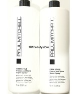 Paul Mitchell Firm Style Freeze & Shine Super Spray 33.8 oz(PACK OF 2) 1... - $48.02