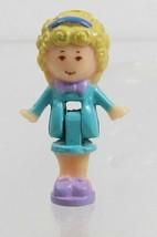 1990 Polly Pocket Doll Vintage Pencil Case Playset (variation) - Polly - $8.00